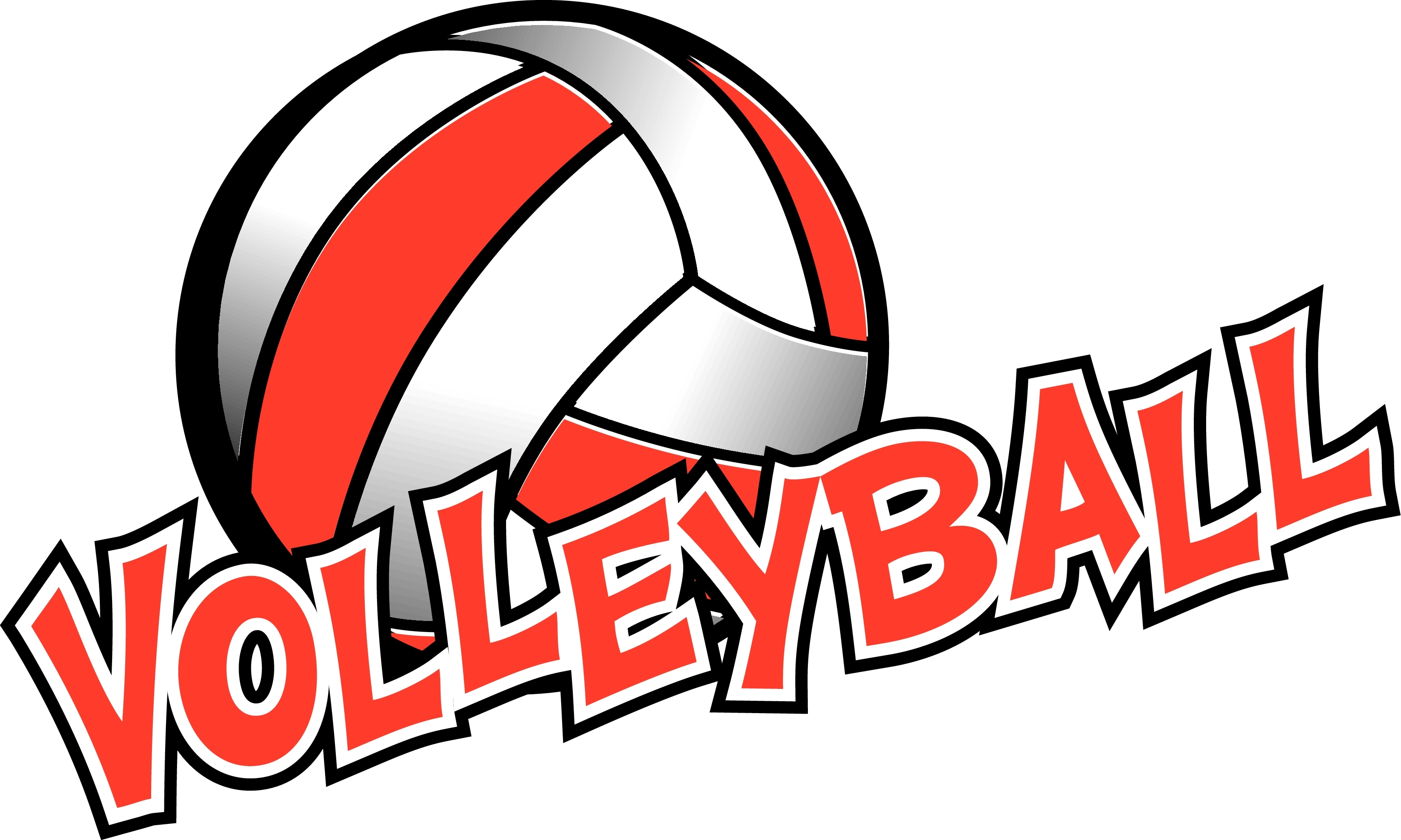red-and-white-volleyball-clipart-1 - Sacred Heart Catholic Academy of  Glendale