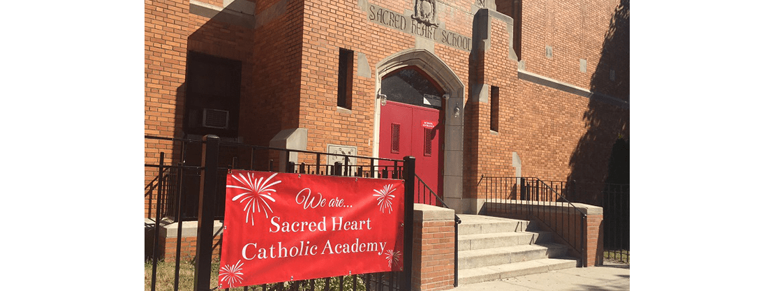 Sacred Heart Catholic Academy of Glendale exterior